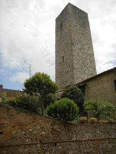 Uma das torres de San Gimignano - Itália