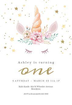 37 Best Custom Birthday Invitations Images