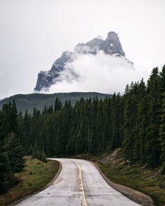 Castle Mountain, Banff National Park, Alberta, Canada by Tanner Wendell Stewart