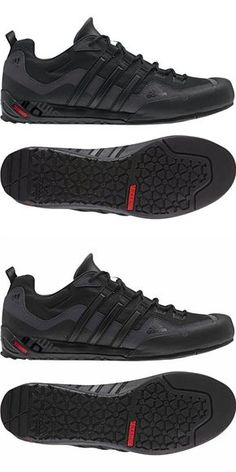 brand new e9716 60d97 Adidas Outdoor Terrex Swift Solo Approach Shoe - Men s Black Black Lead 11  · Nike ShoesMen s ...