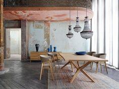 Roche Bobois - JANE dining table - design Christophe Delcourt #rochebobois #diningtable #interiordesign #table