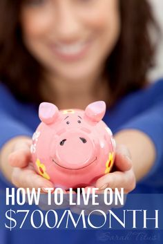 How to Live on $700 a Month - Sarah Titus