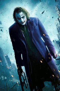 Heath Ledger - Joker - Download Mobile Phone full HD wallpaper