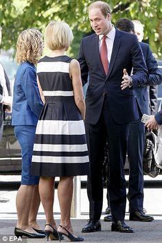 William returns to royal duties in Switzerland #dailymail