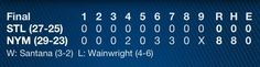 Best Box Score EVER! | NY METS
