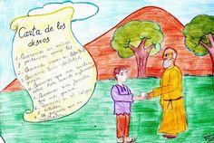 Cuento infantil: La carta de los deseos