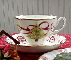 Antiques And Teacups: Tuesday Cuppa Tea, Christmas Goodies~OCR Christmas