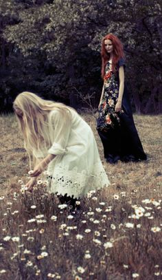 ❀ Flower Maiden Fantasy ❀ beautiful art fashion photography of women and flowers - Style Boho, Boho Chic, Art Magique, Belleza Natural, Boho Gypsy, Look Fashion, The Dreamers, Fashion Photography, Amazing Photography