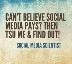 Is The New Social Network Tsu! Join me! http://www.tsu.co/Shysky1221