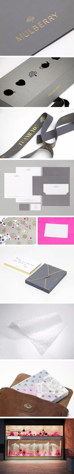 Mulberry Branding by Construct London   Fivestar Branding – Design and Branding Agency & Inspiration Gallery