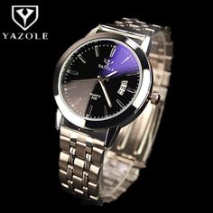 $7.59 (Buy here: https://alitems.com/g/1e8d114494ebda23ff8b16525dc3e8/?i=5&ulp=https%3A%2F%2Fwww.aliexpress.com%2Fitem%2FYAZOLE-Brand-Fashion-Blue-Glass-Auto-Date-Quartz-Watch-Men-Luxury-Watch-Waterproof-Full-Steel-Watches%2F32705685438.html ) YAZOLE Brand Fashion Blue Glass Auto Date Quartz Watch Men Luxury Watch Waterproof Full Steel Watches Luminous Hour reloj hombre for just $7.59