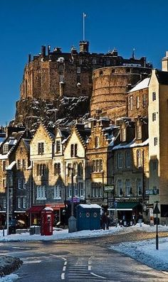 Winter.. Edinburgh, Scotland