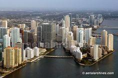 Downtown Miami, not as touristy.