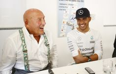 Lewis Hamilton Sir Stirling Moss Mercedes-Benz Classic Monza