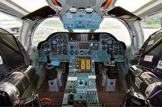 Tupolev Tu-160 cockpit