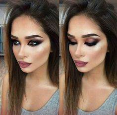 Beautiful Makeup Guide Sexy Makeup Looks Sexy Makeup, Full Face Makeup, Prom Makeup, Gorgeous Makeup, Pretty Makeup, Love Makeup, Makeup Inspo, Bridal Makeup, Wedding Makeup