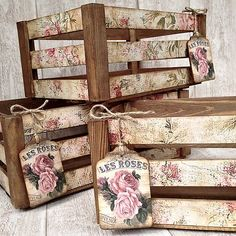 Decoupage-Shabby Chic-Vintage and more Decoupage technology . infinite possibilities and variants f Decoupage Vintage, Decoupage Art, Decoupage Ideas, Shabby Vintage, How To Decoupage Wood, Decopage Wood, Napkin Decoupage, Decoupage Furniture, Painted Furniture