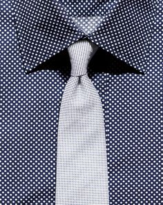 The Best Men's Micro-Check Patterned Shirts: Wear It Now: GQ #necktie #menstyle #RMRS