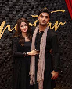 Sahad in black 😍 Sahad. Pakistani Party Wear Dresses, Pakistani Outfits, Cute Girl Poses, Cute Girls, Pakistan Movie, Cute Celebrities, Celebs, Sajjal Ali, Pakistani Culture
