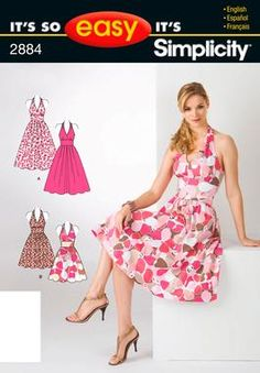 Its So Easy Sewing Patterns : : Simplicity Patterns : Misses Womens Dresses