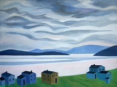 A collection of artworks by the Late Doris McCarthy. Doris McCarthy& paintings are featured out the mountain galleries at the fairmont. Canadian Painters, Canadian Artists, Whistler, Dory, Gallery, Illustration, Artworks, Random Stuff, Mountain