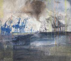 transshipment www.gaetanazwemmer.ch Urban, Painting, Art, Art Background, Painting Art, Kunst, Paintings, Performing Arts, Painted Canvas