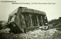 German A7V tank captured