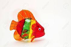 Colorful Fish Chinese Lantern Stock Photo - 13193668