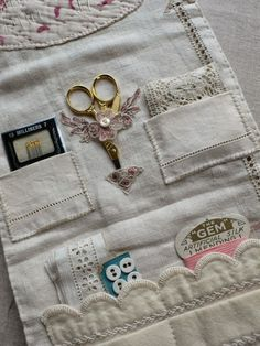 I'm busy making for my next fair on 16th May. It is the Selvedge Spring Fair in Stroud. I love stitching these sewing huswifs, ...