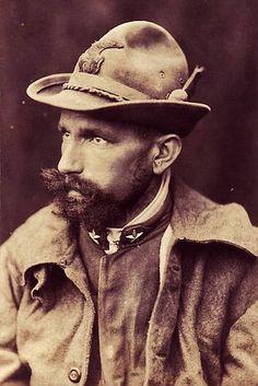 Italian South Tyrol Alpine Soldier WW1