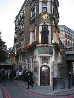 Blackfriars Public House - its called The Black Friar but it is in Blackfriars, near Ludgate Circus. Best Pubs, British Pub, Old Pub, A Discovery Of Witches, All Souls, London Calling, London Travel, Book Of Life, Time Travel