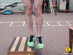 strengthening exercises for runner's knee: interesting theory regarding weak adductor/abductor and hips