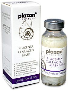 Plazan Professional Products - Placenta-Collagen Mask (pellicle)