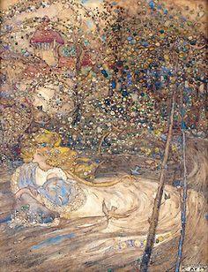 "Annie French (1872-1965)  ""Ophelia"""