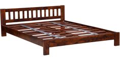 Buy Amarillo King Size Bed in Honey Oak Finish by Woodsworth Online - King Sized Beds - Beds - Pepperfry