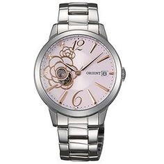 Orient Ladies Automatic Pink Dial Watch FDW02003V Huge Discount  Prices