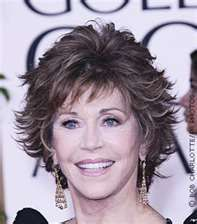 Jane Fonda hair style - the bangs are a length and texture I like