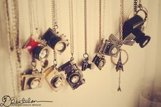 camera necklace collection