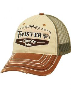 Twister Logo Patch Cap fa9e6db6a88d