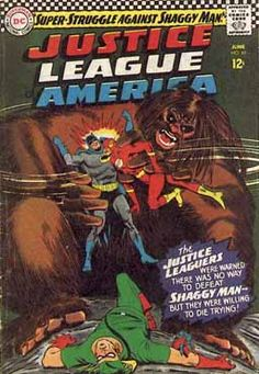 By Mike Sekowsky and Murphy Anderson. One of my favorite JLA covers.