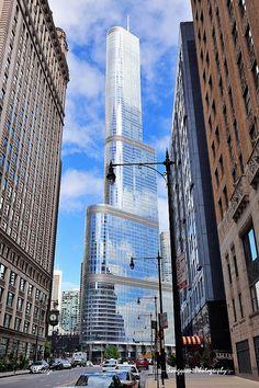 Trump Tower Chicago, gotta respect the Don #glennlaken #glennblaken #chicago