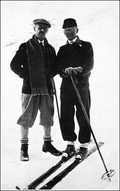 Thomas Mann and Herman Hesse