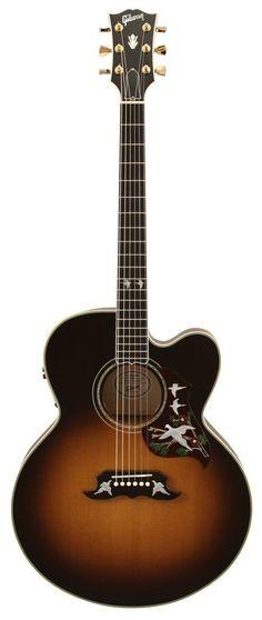 Gibson Acoustic Guitar Super Dove Vintage Sunburst
