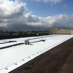 Learn about 7 types of commercial roofing products. TPO roof installed in Gallatin TN by Tri-State Commercial Roofing. VIsit NashvilleRoofer.com for your free onsite estimate. #commercialroofing #CommercialRoofingCompany #Nashvilleroofer