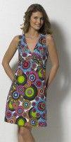 COLINE RO14260 šaty tyrkysová S, M