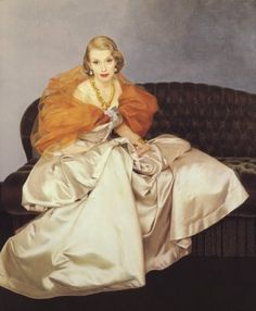 Millicent Rogers in Charles James (Via Stirred, Straight Up, with a Twist Blog)