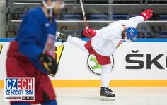 47 Michal Jordan practicing  an arabesque for  World Figure-Skating Lake Placid International in July  #CZE morning skate #WC2016 QF  vs #USA  in for the win https://www.facebook.com/narodnitym/photos/pcb.586756878166196/586754528166431/?type=3