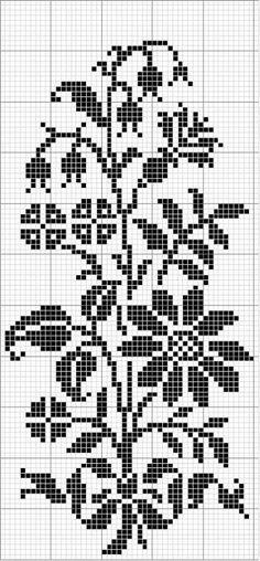 Crochet Charts. . ☀CQ #crochet #charts #tapestry #tunisian
