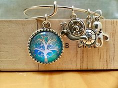 Items similar to Blue tree of life bracelet on Etsy Etsy Jewelry, Unique Jewelry, Tree Of Life Bracelet, My Etsy Shop, Drop Earrings, Personalized Items, Trending Outfits, Bracelets, Handmade Gifts