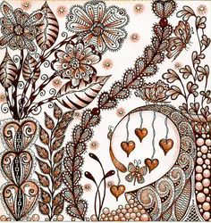 My garden grows with love browns 2 by carolynboettner, via Flickr